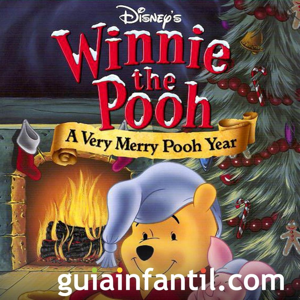Un muy feliz año Pooh. Película para niños