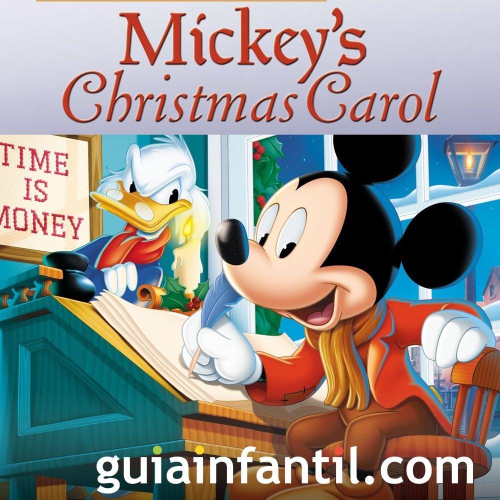 El villancico de Navidad de Mickey. Para niños