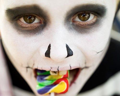Maquillaje de Frankenstein para Halloween