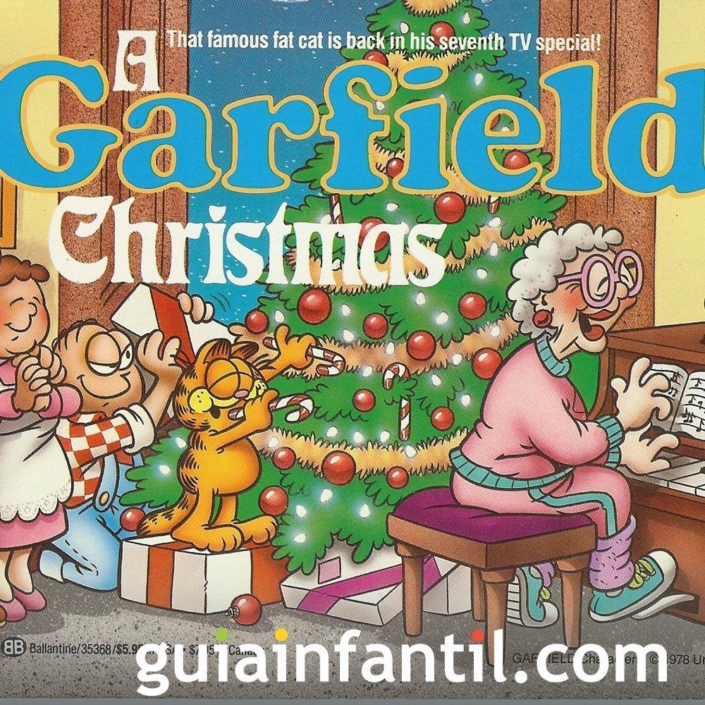 Navidad con Garfield. Película para niños