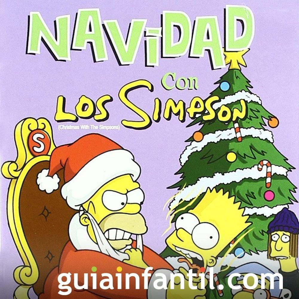 Navidad con los Simpson. Película para niños