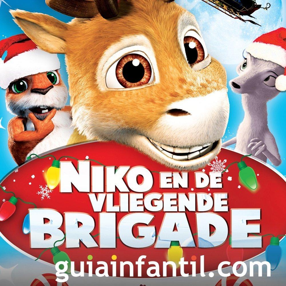 Nico, el reno que quería volar. Película infantil