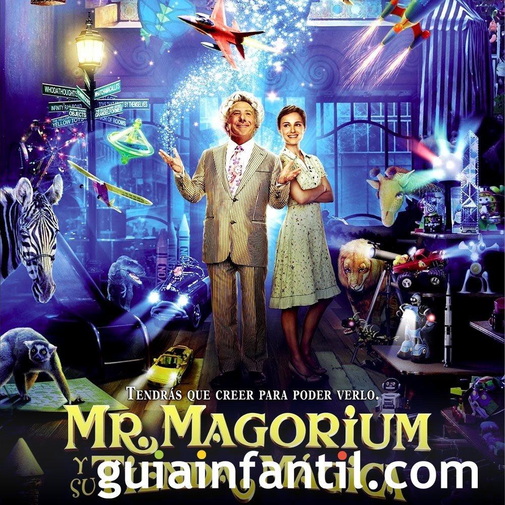 Mr. Magorium y su tienda mágica. Película infantil