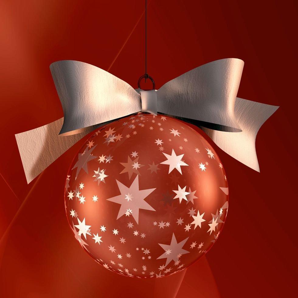 85d791ec1bfaa Bolas brillantes para el árbol de Navidad