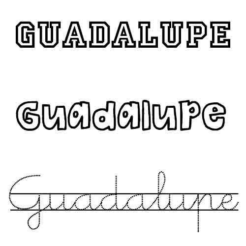Guadalupe. Nombre de santo para bebés