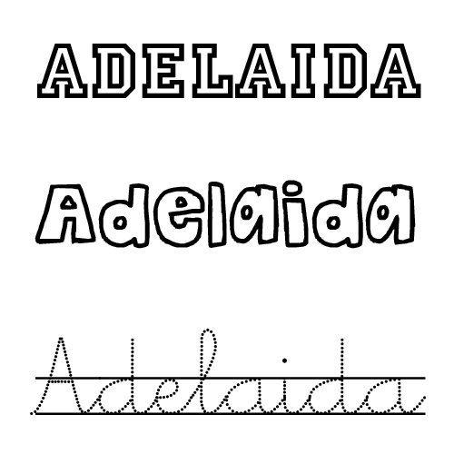 Adelaida. Nombre de santo para niñas