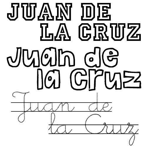 Juan de la Cruz. Nombre de santo para niño