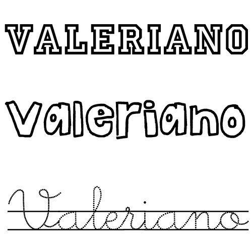 Valeriano. Nombre de santo para niños