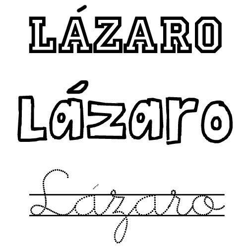 Lázaro. Nombres de santo para niños