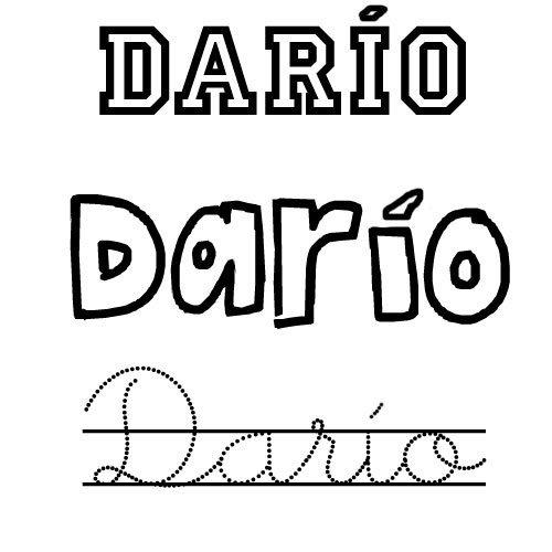 Darío. Nombre de santo para niños