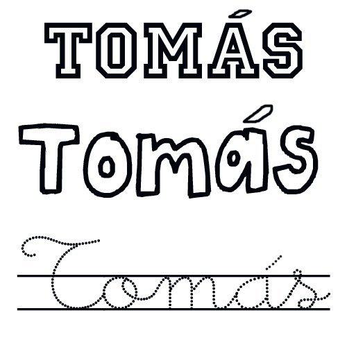 Tomás. Nombre de santo para niños