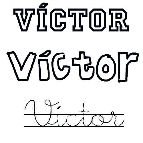 Víctor. Nombres santos para niños