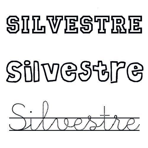 Silvestre. Nombres de santo para niños