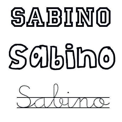 Sabino. Nombres de santo para bebés