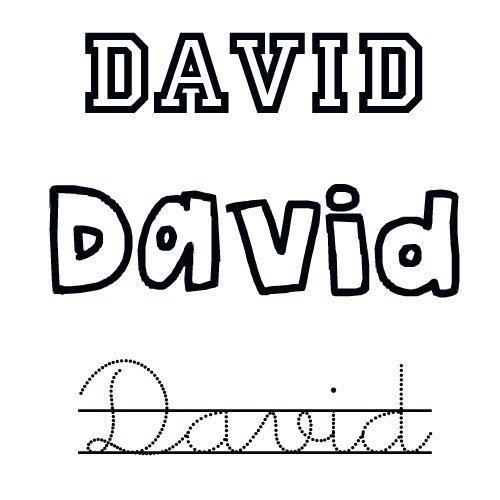 David. Nombre de santo para niños