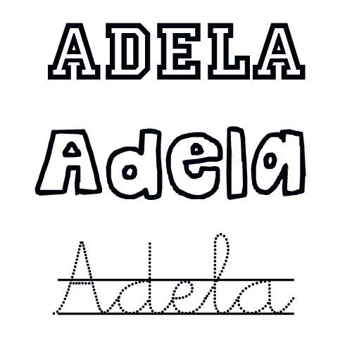 Adela. Nombres de santo para bebés