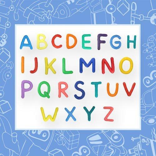 Alfabeto de plastilina para aprender las letras