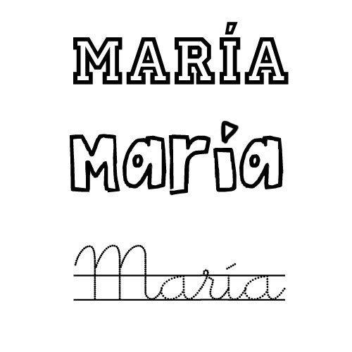 María. Nombre cristiano para niña