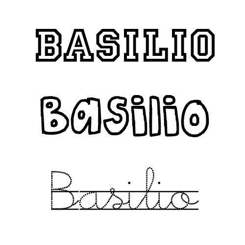 Basilio. Nombre de santo para bebé