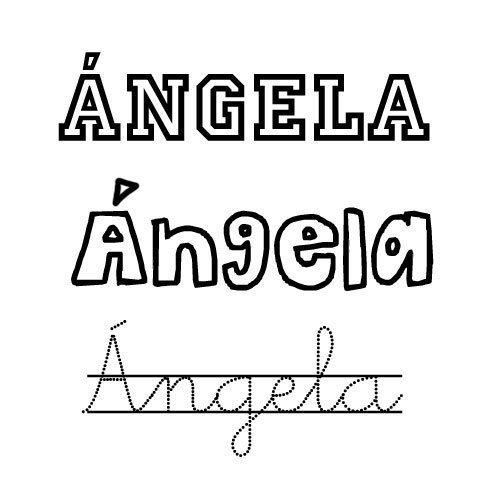 Ángela. Santoral de nombres para niñas