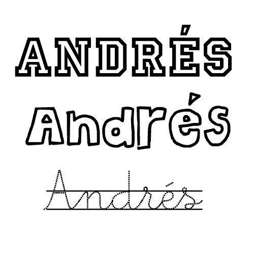 Andrés. Nombre para niño de santo
