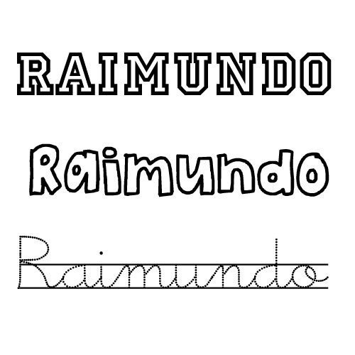 Raimundo. Nombres para niños