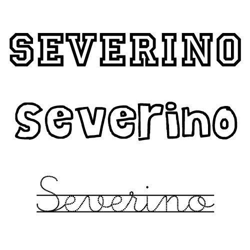 Severino. Santoral de nombres para niño