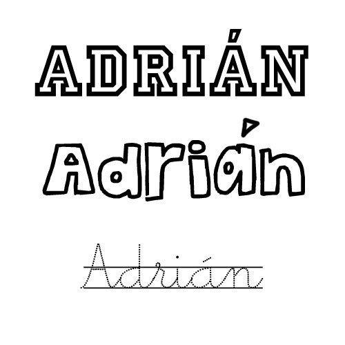 Adrián. Santoral de nombres