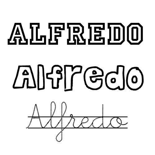Alfredo. Nombre para niño