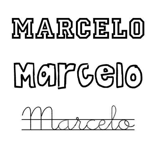 Marcelo. Nombre para niño