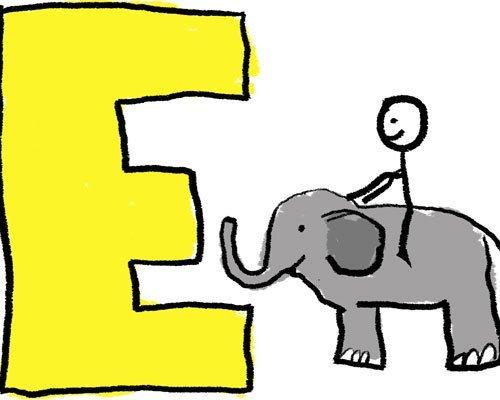 Aprender las letras a través de los dibujos
