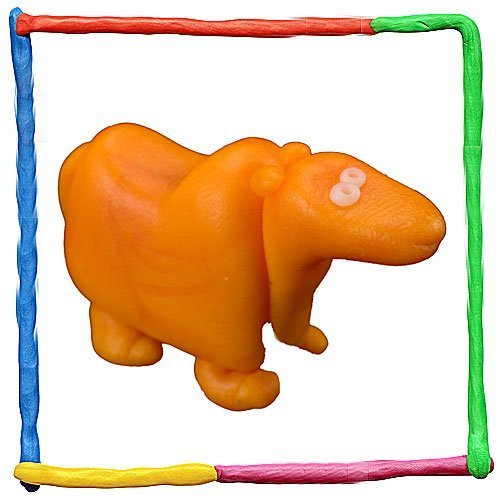 Imagen de camello de plastilina