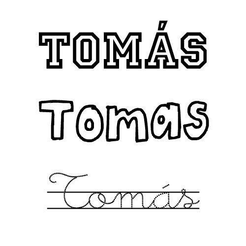 Tomas. Nombres para niños
