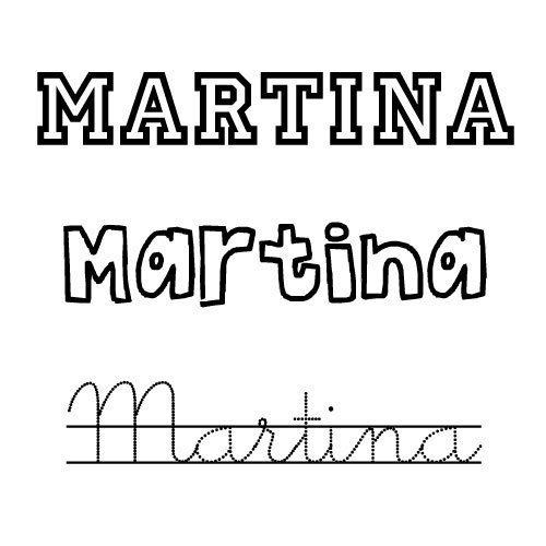 Martina. Nombres para niñas