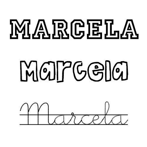 Marcela. Nombres para niñas