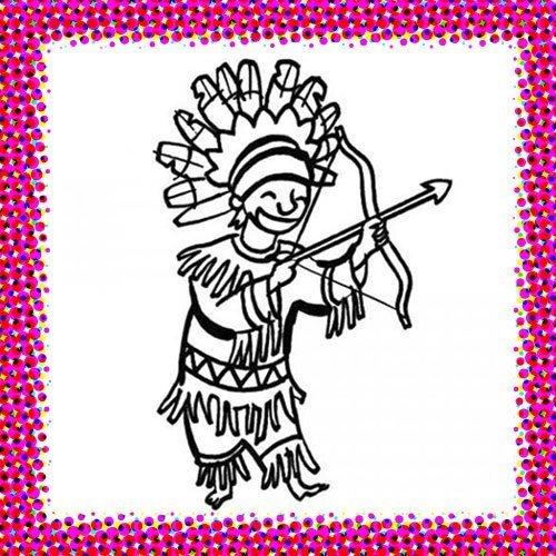 Disfraz de indio en Carnaval