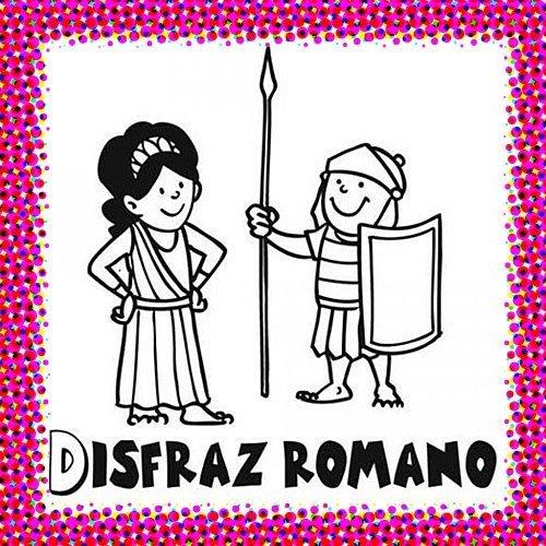 Disfraz de romano para pintar en Carnaval