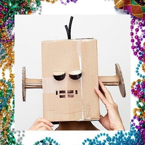 Disfraz casero de robot para niños