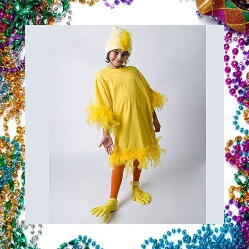 Disfraz casero de pollo para niños