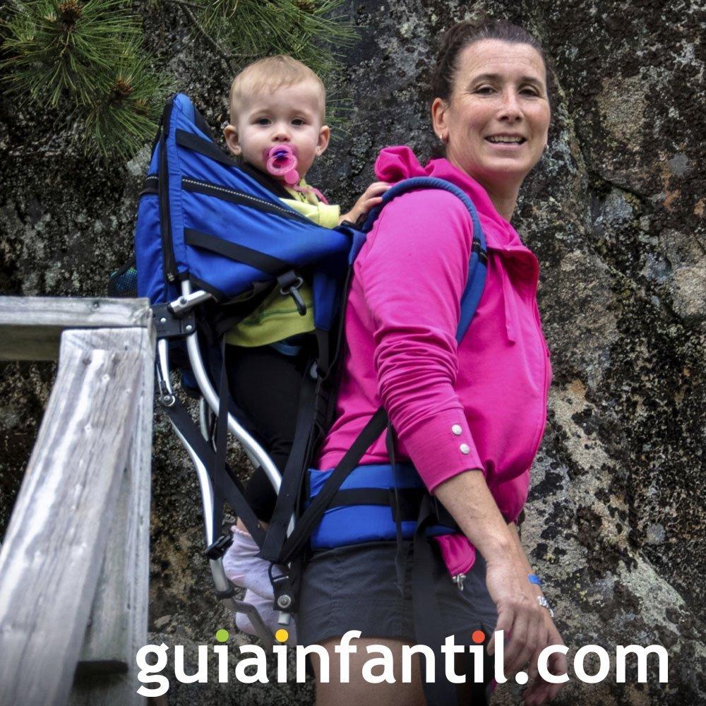 Mochila para llevar al bebé en trayectos largos