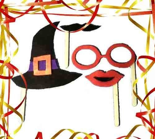 Complementos de Carnaval. Manualidades caseras para niños