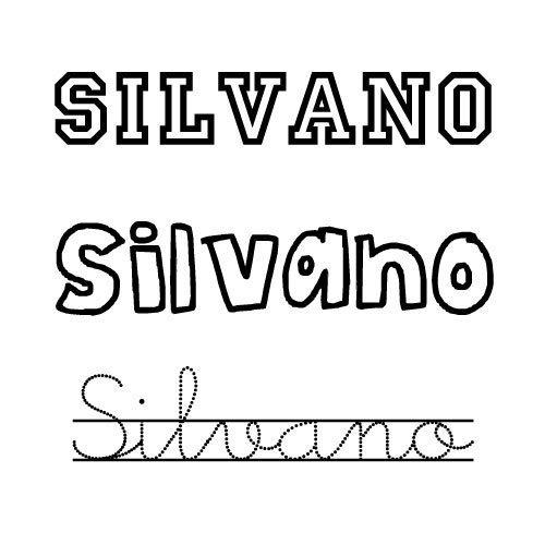 Silvano. Nombres para niños