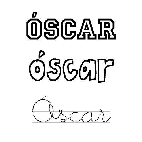 Óscar. Nombres para niños