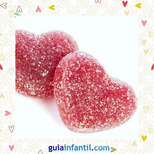 Golosinas de corazón. Recetas dulces para niños