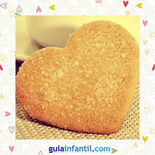 Galletas de avena. Recetas dulces de corazón