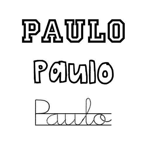Paulo. Nombres para niños