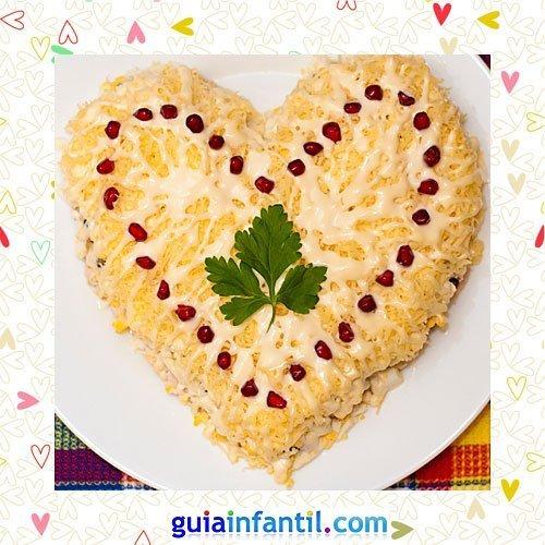 Ensaladilla rusa. Recetas saladas de corazón