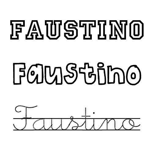 Faustino. Nombres para niños
