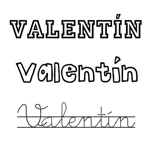 Valentín. Nombres para niños