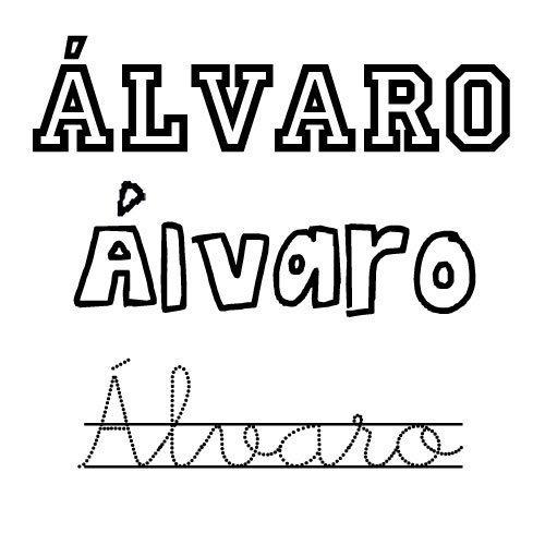 Álvaro. Nombres para niños